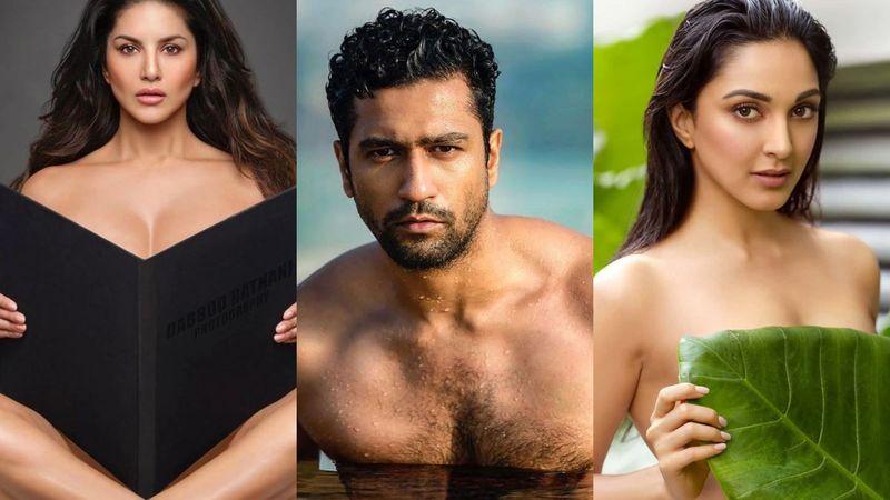 Dabboo Ratnani Calendar 2020: Vicky Kaushal, Kiara Advani, Sunny Leone Go NUDE