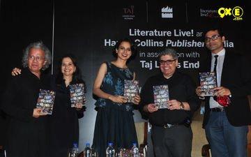 Kangana At A Book Launch Event