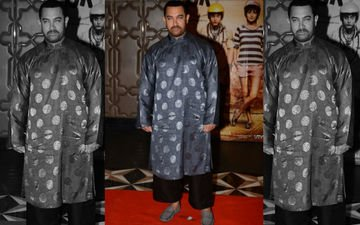 Aamir Wears A Chinese Outfit Gifted By Jackie Chan