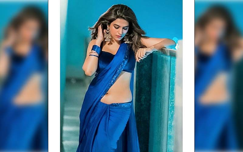 Shraddha Das Flaunts Her Sexy Moves As She Performs On Trending 'Genda Phool'