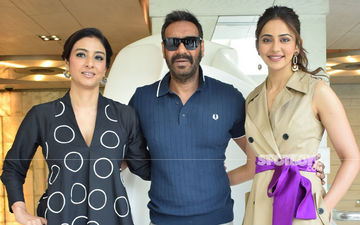 De De Pyaar De Trio Ajay Devgn, Tabu, Rakul Preet Singh Promote The Film In Full Swing