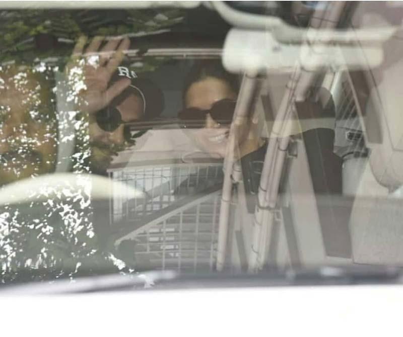 Deepika And Ranveer Spotted Together
