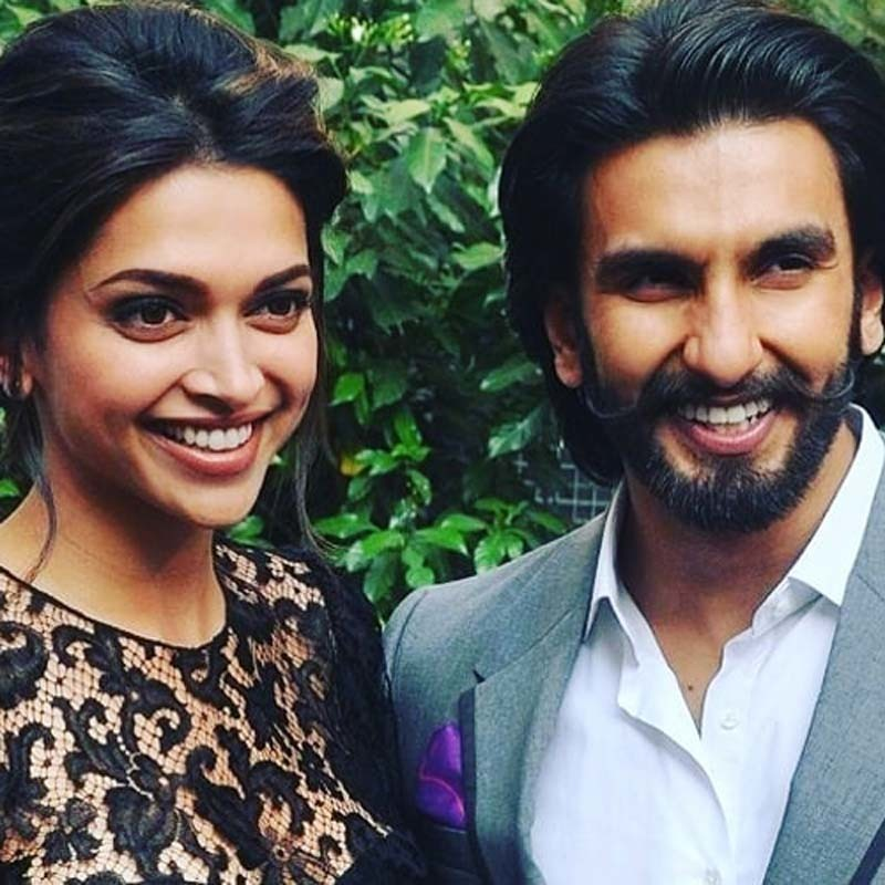 Deepika Padukone And Ranveer Singh Are All Smiles