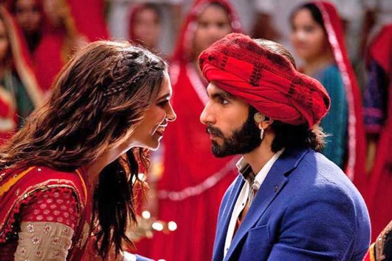 Deepika Padukone And Ranveer Singh from Ramleela