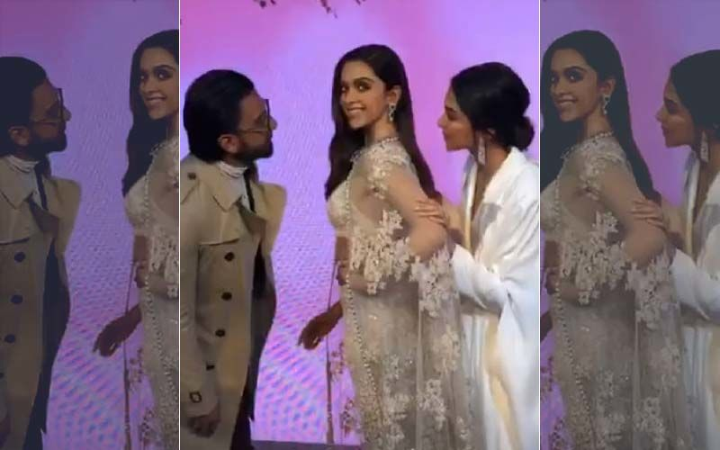 Deepika Padukone Unveils Her Madame Tussauds Statue And Ranveer Singh Just Can't Stop Looking At It