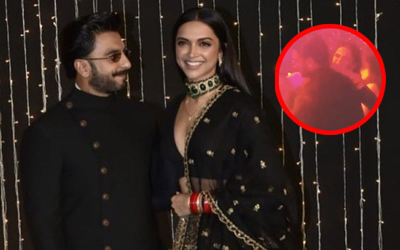 Deepika Padukone Adjusts Ranveer Singh's Collar While He Dances – Do Not Miss The Lovely Video!