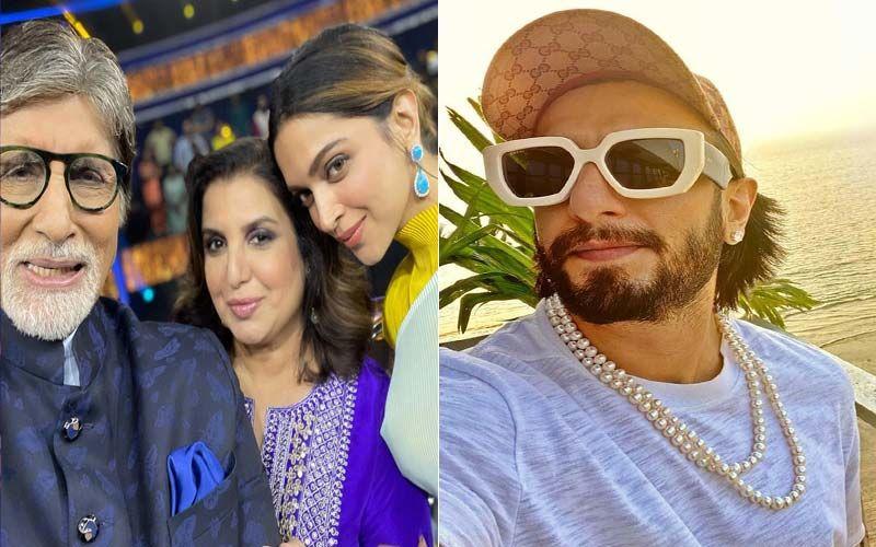 Kaun Banega Crorepati 13: Amitabh Bachchan Calls Up Ranveer Singh After Deepika Padukone Complains About THIS; Here's Why Farah Khan Says 'Mera Ek Bachcha Lelo' -WATCH