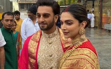 Ranveer Singh Deepika Padukone First Wedding Anniversary: Celebrity Couple Looks Elegant As They Seek Blessings At Tirupati -FIRST PICTURES