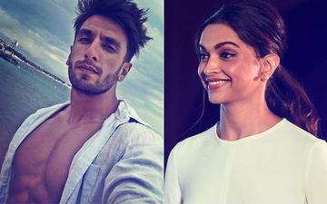 Ranveer Singh Shares A Bare-Chested Picture On His Insta & Deepika Padukone Just Can't Keep Calm