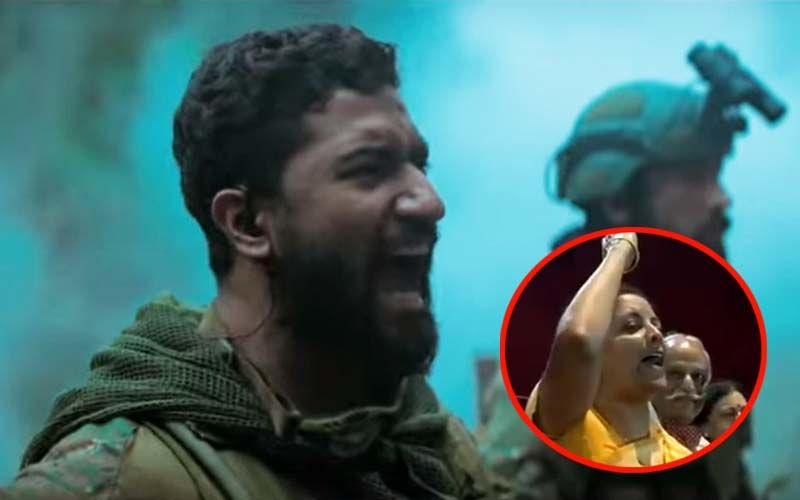 "Moment Of Pride! Defence Minister Nirmala Sitharaman Screams ""How's The Josh?"" In A Theatre- Watch Video"