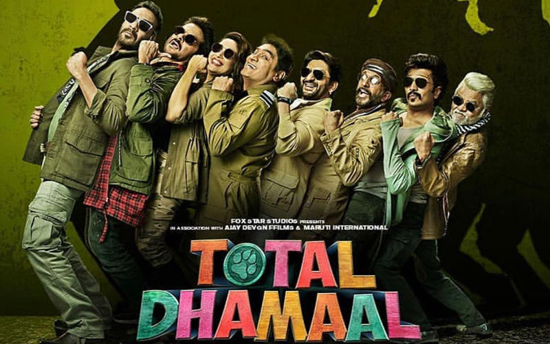 Total Dhamaal Poster: Ajay Devgn, Anil Kapoor, Madhuri Dixit And Gang Will Bring The House Down