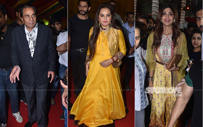 Dharmendra, Jaya Prada, Shilpa Shetty Kundra Attend CWC School Annual Day 2019