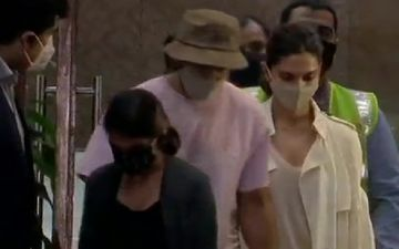 Deepika Padukone Lands In Mumbai With Ranveer Singh; To Join NCB For Investigation On September 26 In Drug Nexus Case