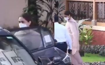 JUST IN: Deepika Padukone LEAVES NCB Office Post Five Hours Of Interrogation Session