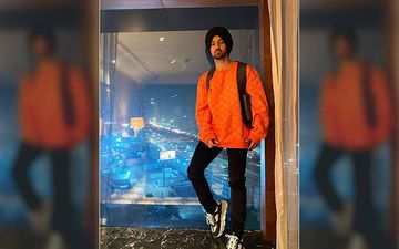 Diljit Dosanjh's New Pictures In Orange Sweatshirt Proves 'This Singh Is So Stylish'