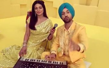 Shadaa Promos Continues, Dijit Dosanjh and Neeru Bajwa Sizzle on the Chess Board