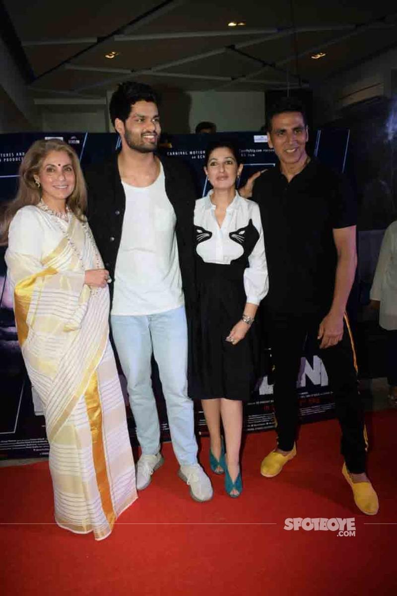 Karan Kapadia with family
