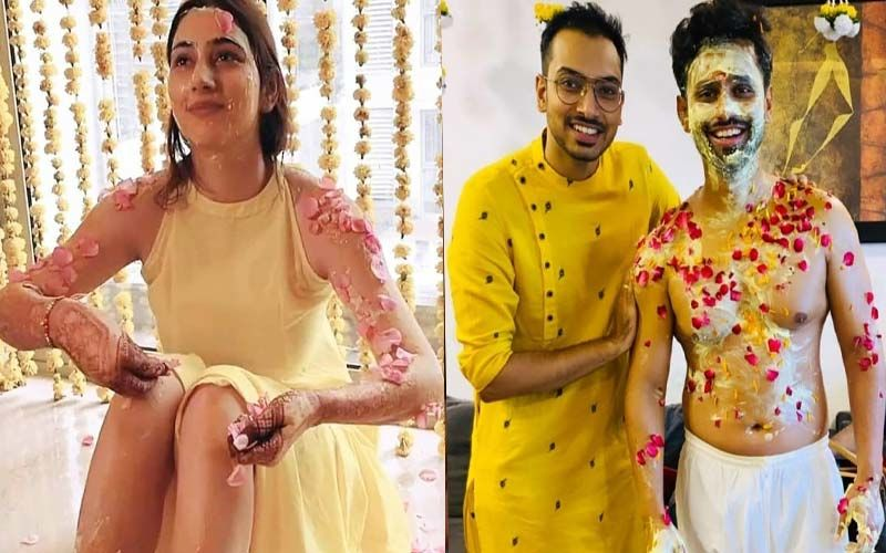 Rahul Vaidya-Disha Parmar Wedding: The BB14 Contestant Is Soaked In Haldi And The Inside PICS Of The Ceremony Shouldn't Be Missed
