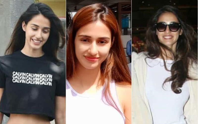 Disha Patani Shows You How To Rock Track Pants For Every Outing