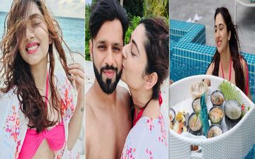 Disha Parmar Sizzles In A Hot Pink Bikini, Enjoys Floating Breakfast In The Maldives; Rahul Vaidya Thanks Fans For All The Love And Birthday Wishes