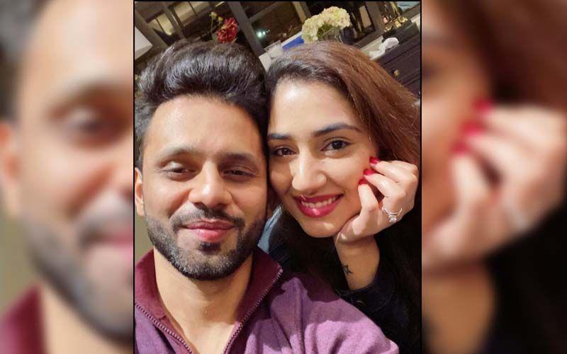 Khatron Ke Khiladi 11's Rahul Vaidya Gets A Back Massage From Girlfriend Disha Parmar Post His Return From Cape Town - WATCH