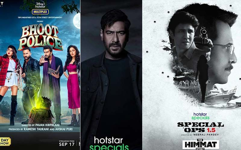 From Bhoot Police, Rudra To Aarya 2 And Special Ops 1.5; Disney Plus Hotstar Unveils It's Extensive Slate Of Upcoming Genre-Defining Releases Of 2021