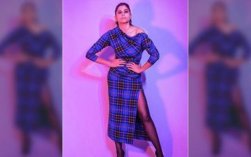 Sai Tamhankar's Tells You How To Wear That Thigh High Slit Like A Diva