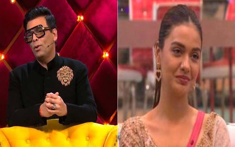 Bigg Boss OTT: Karan Johar Tells Divya Agarwal To 'Watch Her Words' As He Slams Her For The 'Neither Salman Nor Karan Can Influence My Opinion' Comment