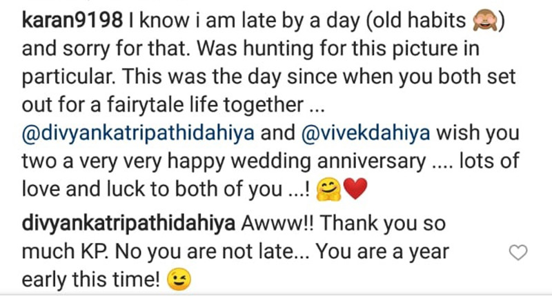 Divyanka Tripathi s Funny Reply To Karan Patel