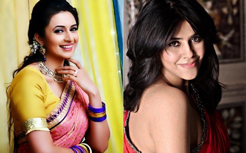 Divyanka Tripathi And Ekta Kapoor
