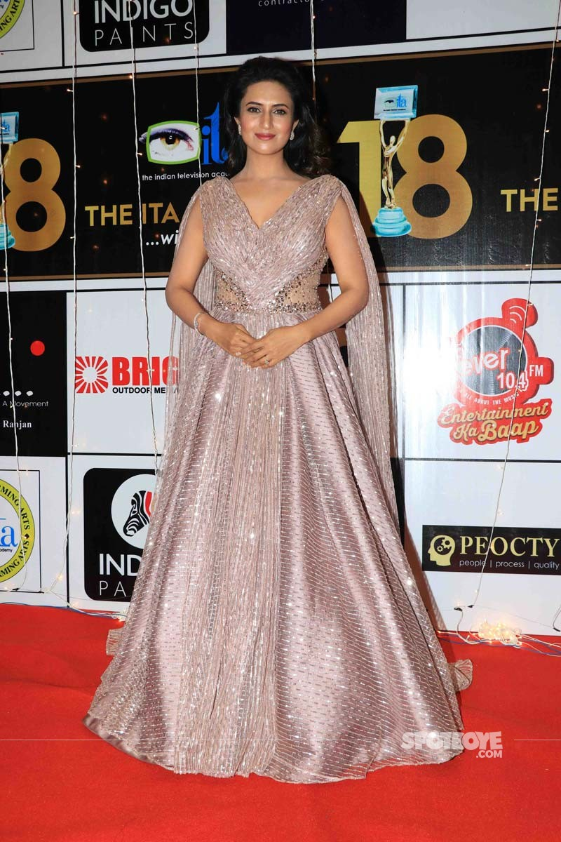 Divyanka Tripathi At ITA Awards 2018