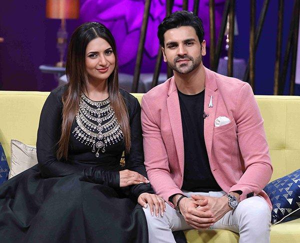 Divyanka Tripathi and Vivek Dahiya on Zee TVs JuzzBatt