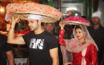 TV Couple Divyanka-Vivek's Holy Trip To Ajmer Sharif