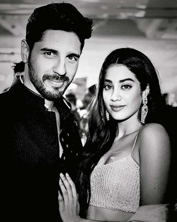 Sidharth Malhotra And Janhvi Kapoor