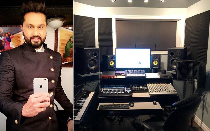 Dream Come True: Roshan Prince Sets Up Swanky Home Studio