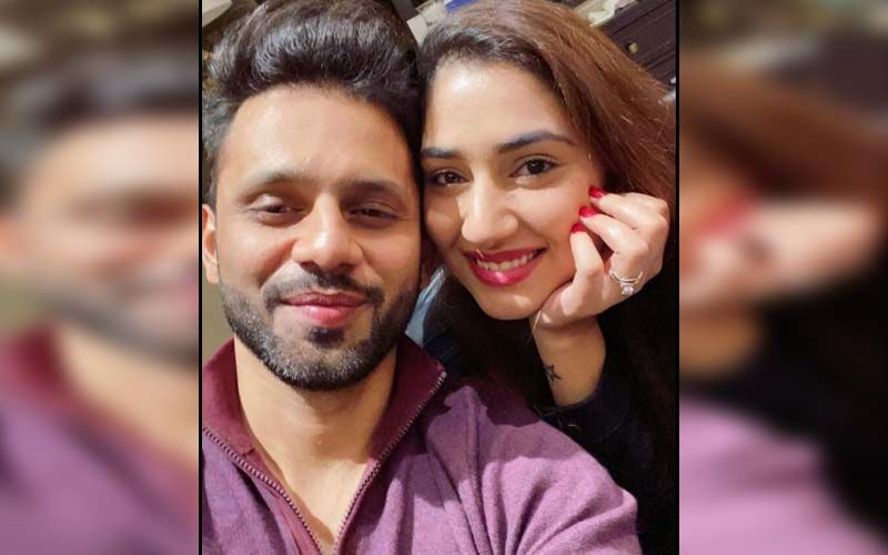 Disha Parmar And Rahul Vaidya Receive The Best Wedding Gift And Their 'Memento Of Love', See PHOTOS!