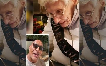 Dwayne Johnson Sends Birthday Wishes To His 100-Year-Old Fan, Wishes His Grandmother Was Still Alive