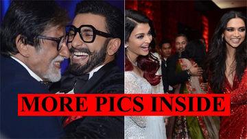 Deepika Padukone Breaks Into A Dance With Amitabh Bachchan; Aishwarya Rai Joins In