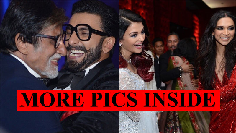 Deepika Padukone Breaks Into A Dance With Amitabh Bachchan; Aishwarya Rai Joins In