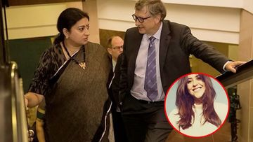 Smriti Irani Pokes Fun At Herself And Bill Gates For Being College Dropouts; Ekta Kapoor Has A 'Kyunki' Twist