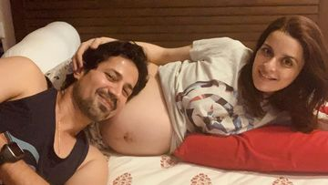 Sumeet Vyas-Ekta Kaul Blessed With A Baby Boy; Excited Daddy Says He Can't Stop 'Smothering' The Newborn