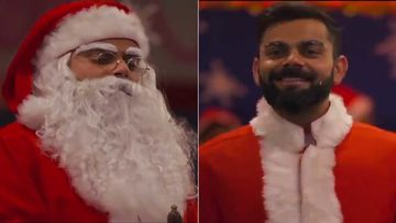 Christmas 2019: Virat Kohli Dresses Up As Santa Claus To Spread Love And Cheer To His Small Fans- WATCH VIDEO