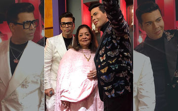 Karan Johar Unveils Wax Statue At Madame Tussauds Singapore With Mom By His Side