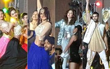 Erica Fernandes, Sanjeeda Shaikh, Kritika Kamra, Karan Tacker  Perform At A Big Fat Wedding In Abu Dhabi- View Pics