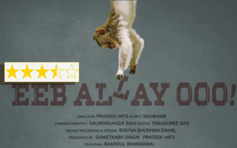 Eeb Allay Ooo Review: Starring Shardul Bharadwaj And Directed By Prateek Vats, The Film Masters The Monkey Business