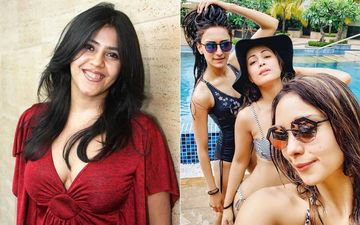 Erica Fernandes, Hina Khan And Pooja Banerjee's Swimsuit Picture Evokes An Epic Response From Ekta Kapoor