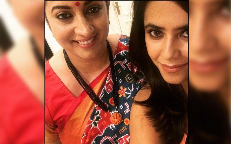 Ekta Kapoor Has The Sweetest Birthday Wish For 'Tulsi' Smriti Irani; Reveals She's Jealous Of Her Because Of THIS Reason