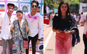 Ekta Kapoor's Holi Bash: Vikas Gupta, Parth Samthaan-Erica Fernandes, Karishma Tanna, Urvashi Dholakia Have A Blast, Hina Khan Gives It A Miss