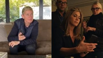 Coronavirus Lockdown: Ellen DeGeneres Surely Is Bored AF; Now Calls Her BFF Jennifer Aniston Who Has An Awkward Hello –WATCH