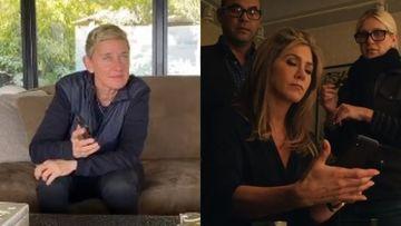 Coronavirus Lockdown: Ellen DeGeneres Surely Is Bored AF; Now Calls Her BFF Jennifer Aniston Who Has An Awkward Hello –WATCH